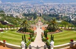 Jardins de Bahai Images stock