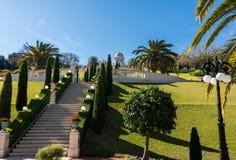 Jardins de Bahai Photos libres de droits