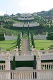 Jardins de Bahai photographie stock