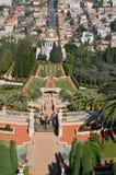 Jardins de Bahai Photographie stock libre de droits