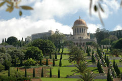 Jardins de Bahai Fotos de Stock