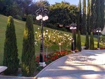 Jardins de Bahai, Haïfa Photographie stock