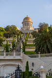 Jardins de Bahai, Haïfa, Israël photos stock