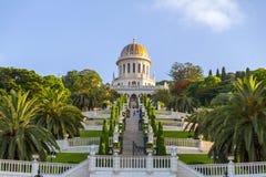 Jardins de Bahai, Haïfa, Israël photos libres de droits