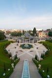 Jardins de Bahai - Haïfa, Israël Photo stock