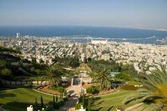 Jardins de Bahai, Haifa, Israel Fotografia de Stock Royalty Free