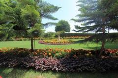 Jardins de Bahai sur le mont Carmel à Haïfa Images libres de droits