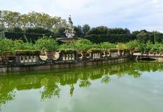 Jardins de Boboli Imagem de Stock