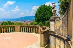 Jardins de Boboli em Florença, Toscânia, Itália Foto de Stock Royalty Free