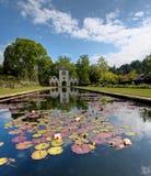 Jardins de Bodnant Photo stock