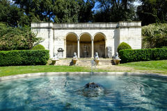 Jardins de Borghese de villa à Rome images stock