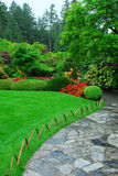 Jardins de Butchart Photo stock