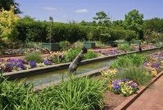 Jardins de canal chez Daniel Stowe images stock