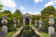 Jardins de château d'Arundel photographie stock libre de droits