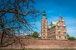 Jardins de château de Rosenborg à Copenhague photos stock