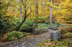 Jardins de chute Photo libre de droits