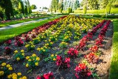 Jardins de Duncan dans le wshington de Spokane image stock