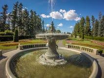 Jardins de Duncan dans le wshington de Spokane photo stock