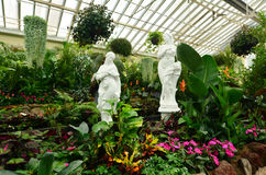 Jardins de Fitzroy - Melbourne Photographie stock