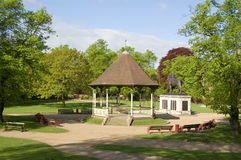 Jardins de Forbury, le relevé, Berkshire image libre de droits