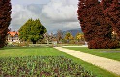 Jardins de gouvernement de Rotoura Image libre de droits