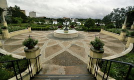 Jardins de Hollis, Lakeland Florida Fotos de Stock Royalty Free