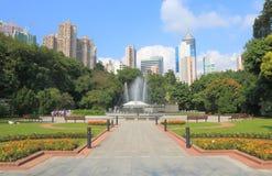 Jardins de Hong Kong Zoological And Botanical foto de stock