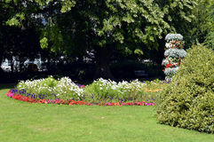 Jardins de Jephson em termas de Leamington Fotos de Stock