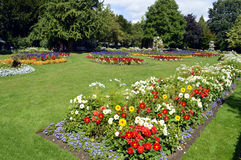 Jardins de Jephson em termas de Leamington Fotografia de Stock