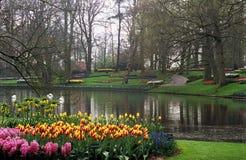 Jardins de Keukenhof Images libres de droits