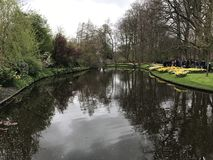 Jardins de Keukenhof imagens de stock royalty free