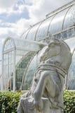 Jardins de Kew da casa de palma imagem de stock