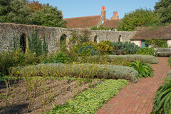Jardins de Kipling dans Rottingdean, le Sussex, Angleterre photographie stock libre de droits