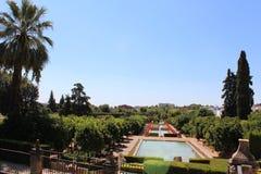 Jardins de l'Alcazar de Christian Monarchs, Cordoue, Espagne Image stock