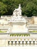 Jardins de la Fontaine, Nimes (Frankrike) Royaltyfri Foto