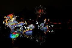 Jardins de lumière Fotos de Stock Royalty Free