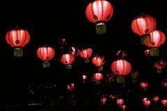 Jardins de lumière Arkivfoton