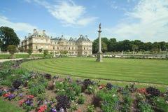 Jardins de Luxembourg em Paris Fotografia de Stock