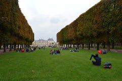 Jardins de Luxemburgo Foto de Stock Royalty Free