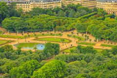 Jardins de Luxemburgo de Paris imagem de stock royalty free