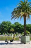 Jardins de Luxemburgo, Paris, França Foto de Stock Royalty Free