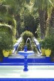Jardins de Majorelle Fotos de Stock