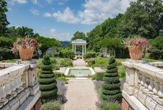 Jardins de manoir de Blythewood Photo libre de droits