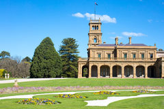 Jardins de manoir de Werribee Photos stock