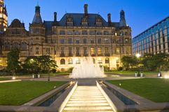 Jardins de millénium de Sheffield Photos libres de droits