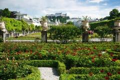 Jardins de Mirabell Fotografia de Stock