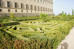 Jardins de monastère Photos libres de droits