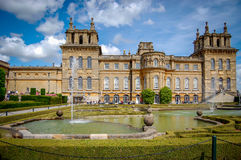 Jardins de palais de Blenheim Photographie stock libre de droits