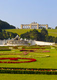 Jardins de palais de Schonbrunn à Vienne Images stock