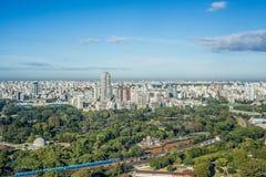 Jardins de Palerme à Buenos Aires, Argentine. Images stock